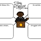 Martin Luther King J.R. Graphic Organizer Freebie