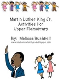 Martin Luther King Jr. Activities for Upper Elementary