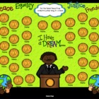 Martin Luther King Jr. Attendance Interactive Flipchart fo