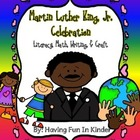 Martin Luther King Jr Celebration Literacy, Math, Writing,