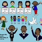 Martin Luther King Jr. Clipart PNG Files for Personal or C