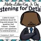 Martin Luther King, Jr. Day Listening for Details
