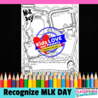 Martin Luther King, Jr. Day Poster Activity
