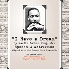 Martin Luther King, Jr. Dream Speech &amp; Activities