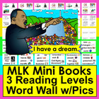Martin Luther King, Jr. Emergent Readers and Harder-3 Rdg.