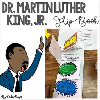 Martin Luther King, Jr. Flap Book FREEBIE