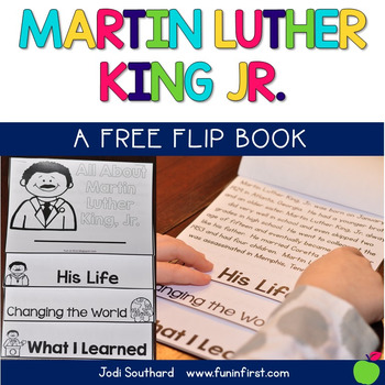 Martin Luther King, Jr. Flip Book {Freebie}