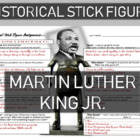 Martin Luther King Jr. Historical Stick Figure (Mini-biography)