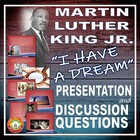 "Martin Luther King Jr  ""I Have a Dream"" / Discrimination P"