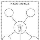 Martin Luther King Jr Math and Writing Station