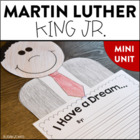 Martin Luther King Jr. - Mini Unit & Craftivity!