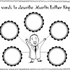 Martin Luther King Jr. Mini Writing Pack
