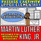 Martin Luther King, Jr. Passage and Activity for INTERACTI