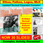 Martin Luther King Jr. Persuasive Tools of Ethos, Pathos, Logos