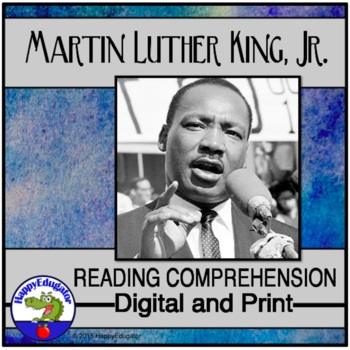 Martin Luther King Jr. Reading Activity