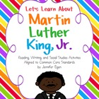 Martin Luther King, Jr. Reading, Writing and  Social Studi