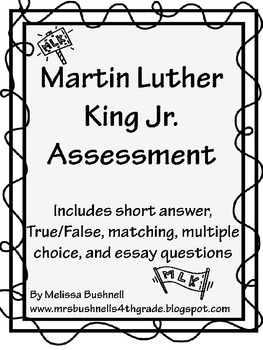 Martin Luther King Jr. Test