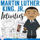 Martin Luther King Jr Unit including Literacy and Math Centers