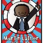 Martin Luther King Jr. Vocabulary Cards Freebie