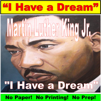 Martin Luther King Junior Activity PowerPoint