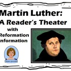 Martin Luther, a Reader'sTheatre poem for Reformation