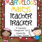 Marvelous Mateys Teacher Tracker: A Pirate Themed Classroo