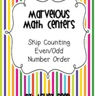 Marvelous Math Centers {FREEBIE!!}