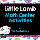 Mary Had a Little Lamb Math & Literacy Center Activities
