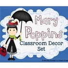Mary Poppins Classroom Decor Theme Bundle