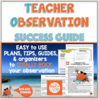 Marzano Observation + Evaluation Success Checklists