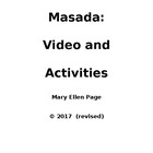 Masada video and related activities