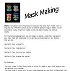 Mask Making in Drama