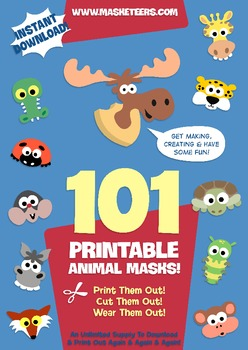 Masketeers 'Big Book Of Animal Masks!'