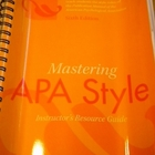 Mastering APA Style Instructor's Resource Guide 6th Edition