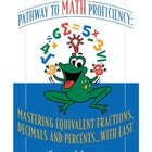 Mastering Equivalent Fractions, Decimals and Percents... w