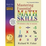 Mastering Math Essentials Book 1 *FREE ONLINE VIDEO TUTORIALS*