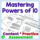 Mastering Powers of 10: Content and Practice  5.NBT.2