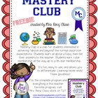 Mastery Club Questions - FREE - Challenge All Learners