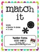 Match-It Number Forms