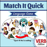 Match It Quick - Verb/Syntax Game