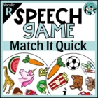 Match It Quick - Vocalic R