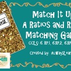 Match It Up!: A Ratio and Rates Matching Game for Sixth an