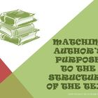 Matching Author's Purpose to Structure of Text Reading Str
