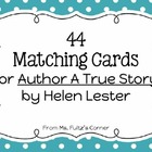 Matching Cards for Author A True Story