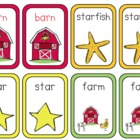 Matching Game For 'ar' Words