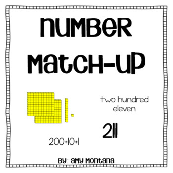 Matching Number Forms (Expanded, Written, Standard, and Ba
