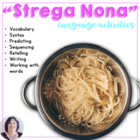 "Materials for ""Strega Nona"" - revised Special Education mo"
