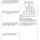 Math Activities ~ 2nd Grade ~ Houghton Mifflin Theme 2 ~ N