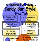 Math Activities and Writing Activities using Candy Bars!
