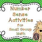 Math Activities for Small Group Math